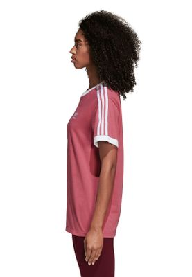 Adidas Originals T-Shirt Damen 3 STRIPES TEE DH3141 Pink – Bild 2