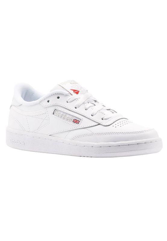 Reebok Sneaker CLUB C 85 BS7685 Weiß White LT Grey – Bild 3