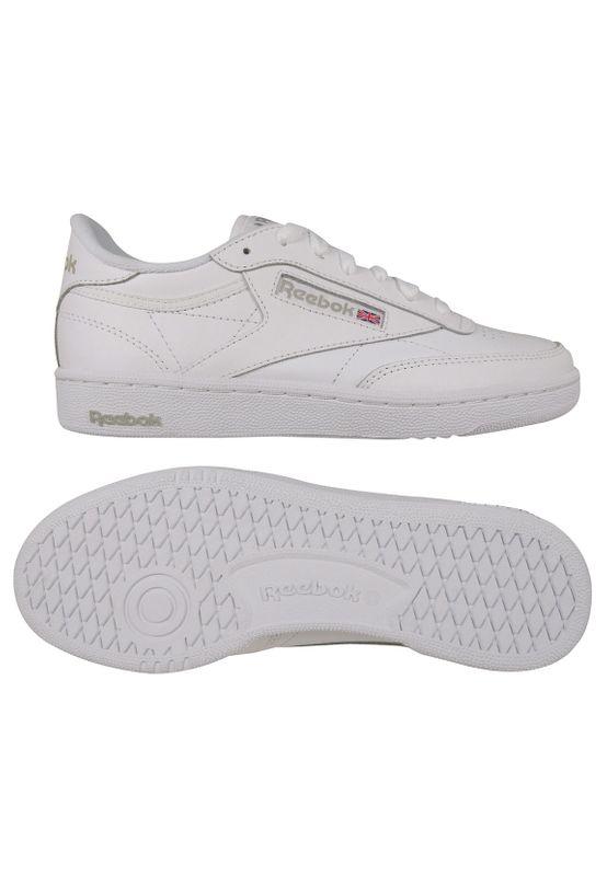 Reebok Sneaker CLUB C 85 BS7685 Weiß White LT Grey – Bild 1
