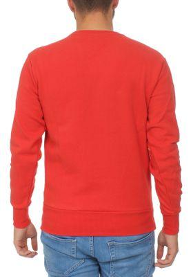 Ellesse Sweater Herren SUCCISO CREW SWEAT Rot Scarlet – Bild 1