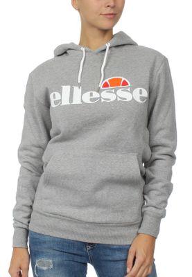 Ellesse Sweater Damen TORICES OH HOODY Grau Ath Grey Marl – Bild 0