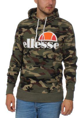 Ellesse Sweater Herren GOTTERO OH HOODY Camouflage Camo Print – Bild 0