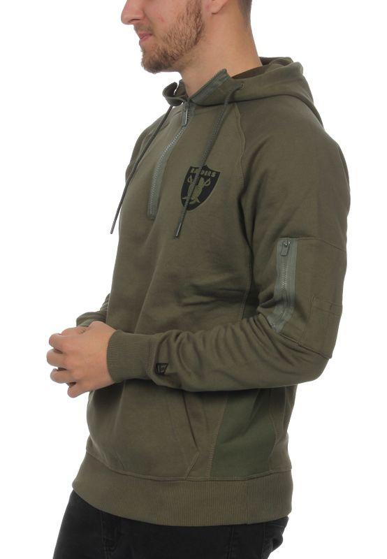 New Era Camo Collection Herren Sweater OAKLAND RAIDERS Khaki – Bild 2