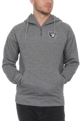New Era NFL Jersey HZ Herren Sweater OAKLAND RAIDERS Grau – Bild 0