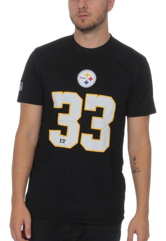 New Era NFL Team Supporters Herren T-Shirt PITTSBURGH STEELERS Schwarz – Bild 0