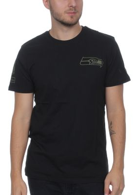 New Era Camo Collection Herren T-Shirt SEATTLE SEAHAWKS Schwarz – Bild 0