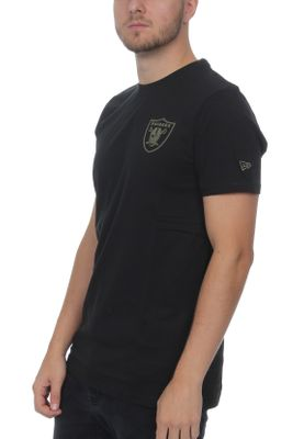New Era Camo Collection Herren T-Shirt OAKLAND RAIDERS Schwarz – Bild 2