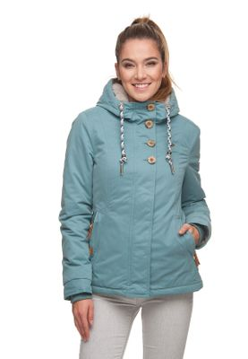 Ragwear Jacke Damen LYNX 1821-60011 Blau Dusty Blue 2046