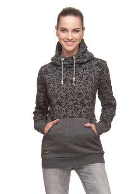 Ragwear Sweater Damen AVIGNON ORGANIC 1821-30062 Schwarz Black 1010