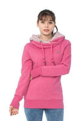 Ragwear Sweater Damen DOBLIN 1821-30073 Pink Fuchsia 4058