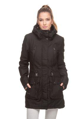 Ragwear Jacke Damen ELSA 1821-60040 Schwarz Black 1010