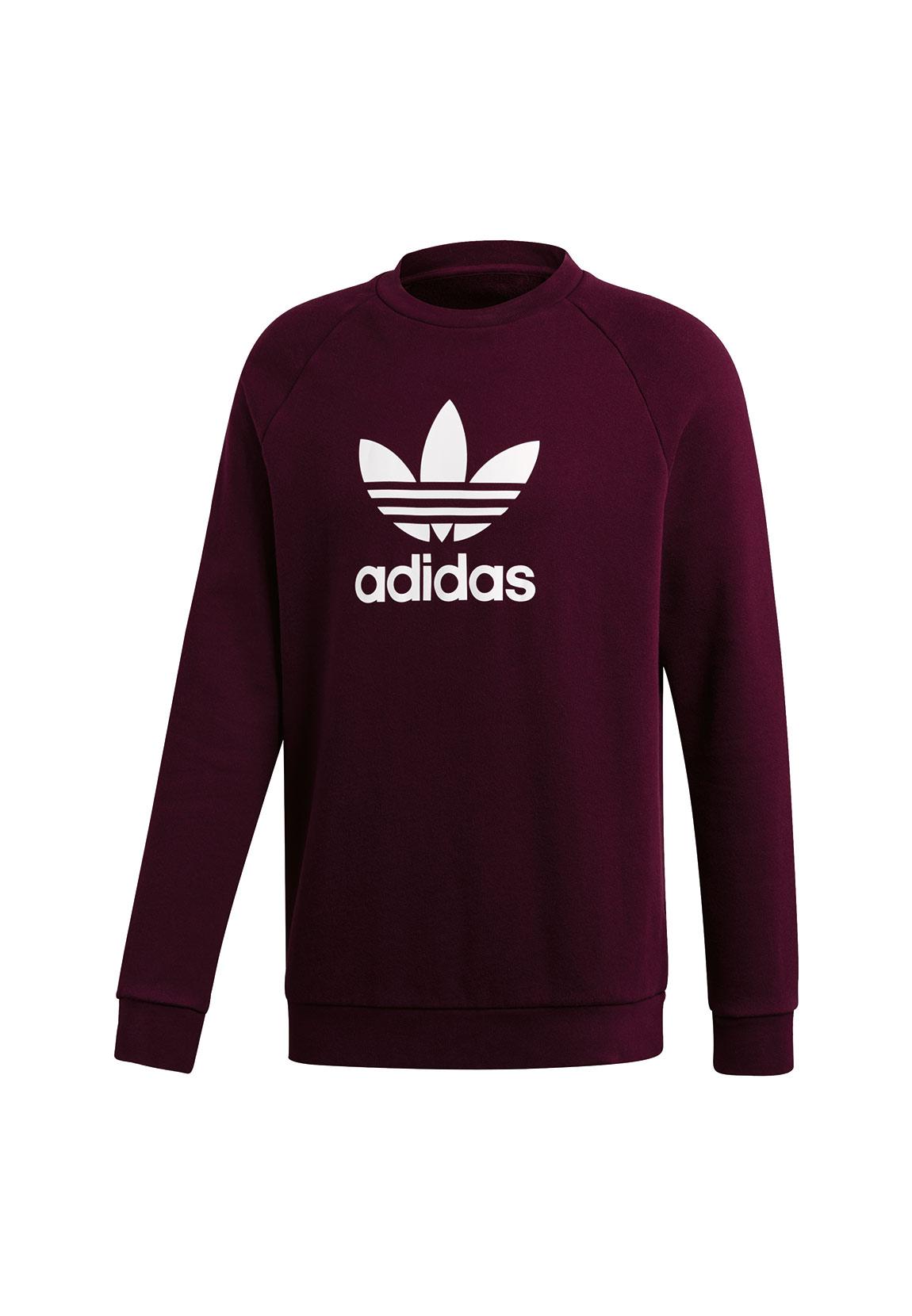 Details zu Adidas Originals Sweatshirt Herren TREFOIL CREW