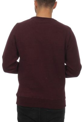 Superdry Pullover Herren ORANGE LABEL CREW Boston Burgundy Grit – Bild 1