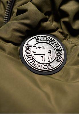 Superdry Jacke Damen HORIZON PADDED JKT Khaki – Bild 2