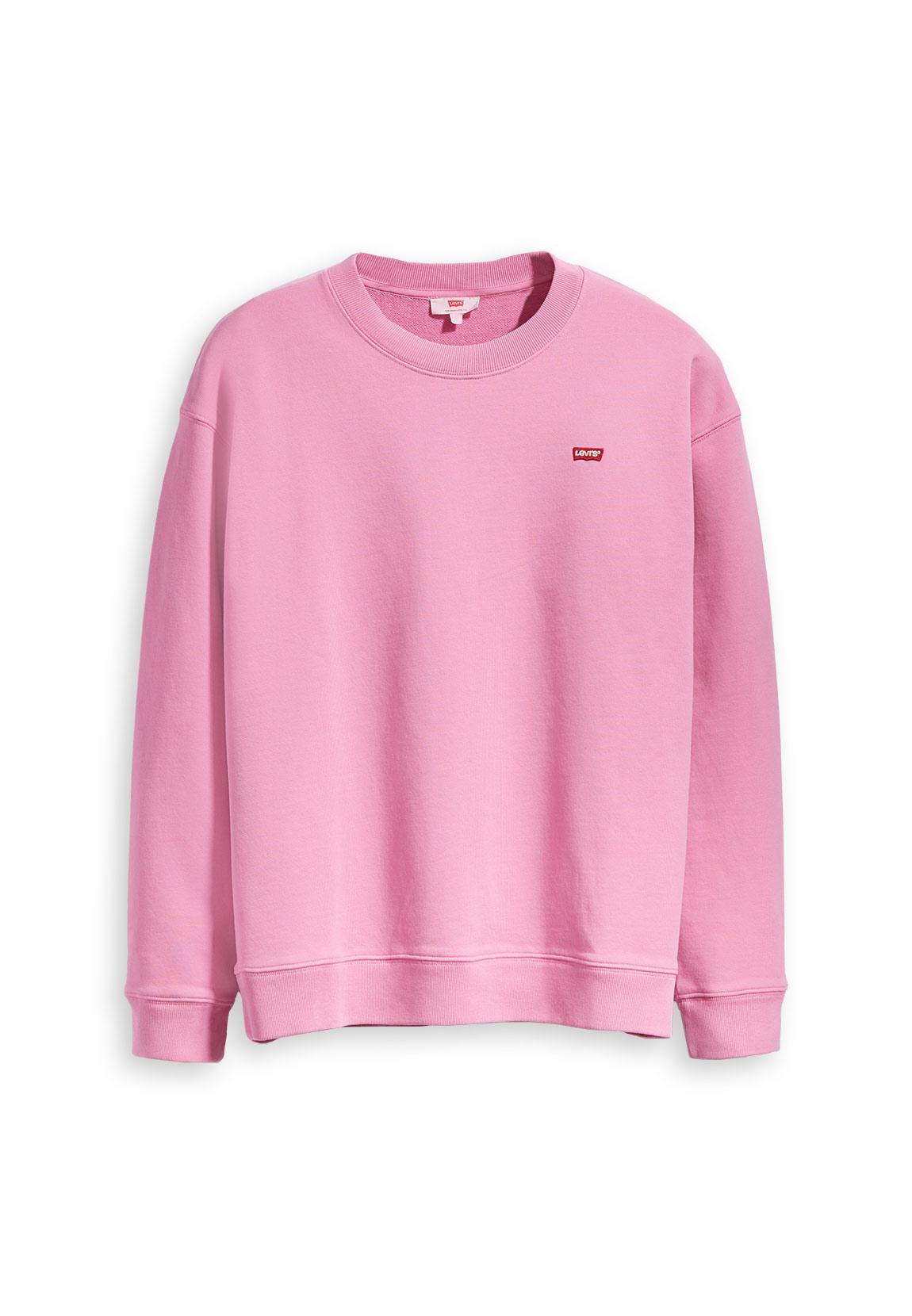 newest collection 748d9 d97cd Levi´s Sweater Damen OVERSIZED CREWNECK 56333-0001 Pink