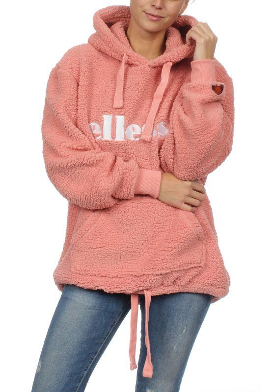 Ellesse Hoody Damen GRATTINI OH HODDY SGZ06053 Rosa Pink – Bild 2