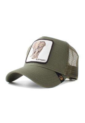 Goorin Bros. Trucker Cap ELEPHANT Khaki – Bild 0