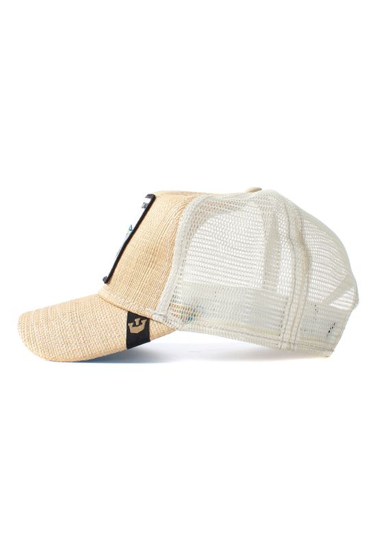 Goorin Bros. Trucker Cap BIG FISH Beige – Bild 2