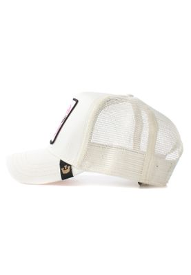Goorin Bros. Trucker Cap FLOATER Flamingo Weiß Pink – Bild 1