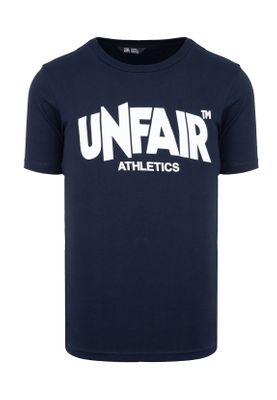 Unfair Athletics Herren T-Shirt CLASSIC LABEL UNFR18-071 Blau Navy – Bild 0
