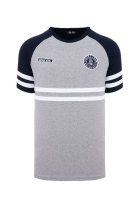 Unfair Athletics Herren T-Shirt DMWU UNFR18-078 Grau Grey Navy – Bild 0