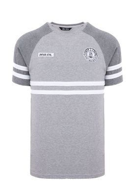 Unfair Athletics Herren T-Shirt DMWU UNFR18-076 Grau Grey Charcoal  – Bild 0