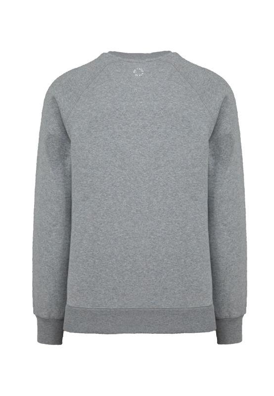 Unfair Athletics Herren Sweatshirt ONE TONE SWEATSHIRT UNFR18-093 Grau Grey Melange – Bild 2