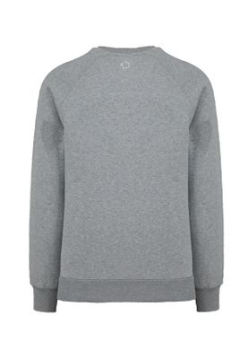 Unfair Athletics Herren Sweatshirt ONE TONE SWEATSHIRT UNFR18-093 Grau Grey Melange – Bild 2