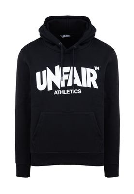 Unfair Athletics Herren Sweater CLASSIC LABEL HOODIE UNFR18-075 Schwarz Black – Bild 0