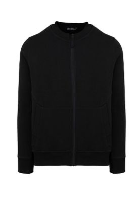 Unfair Athletics Herren Zipper TAPED ZIP SWEATER UNFR18-088 Schwarz Black – Bild 0