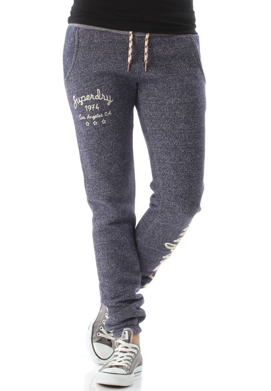 Superdry Jogger Damen RYLEE EMBROIDERED Colorado Navy Marl – Bild 0