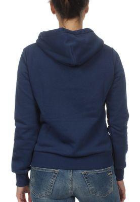 Converse Sweater Damen STAR CHEVRON PO HOODIE 10008819 Blau 426 – Bild 1