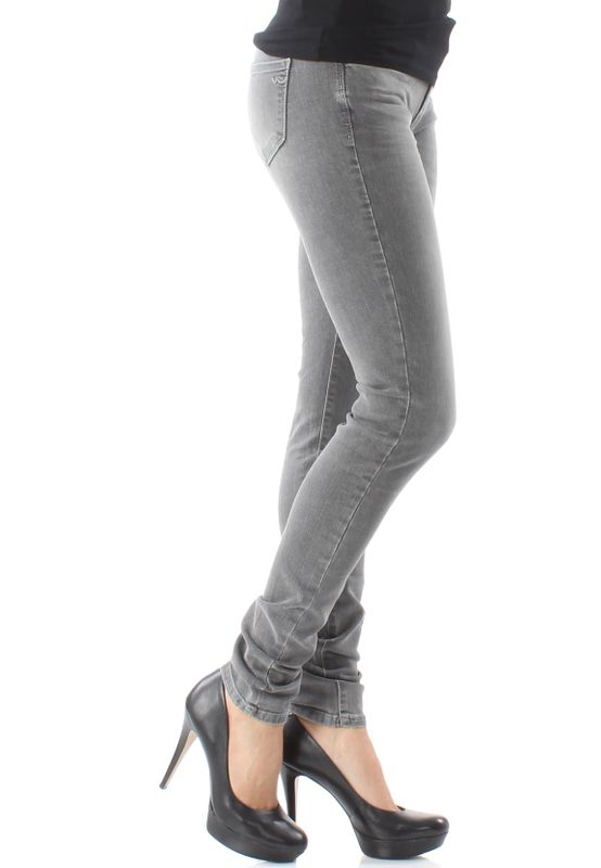 LTB Damen Jeans NICOLE Speed Grey Wash Grau – Bild 2