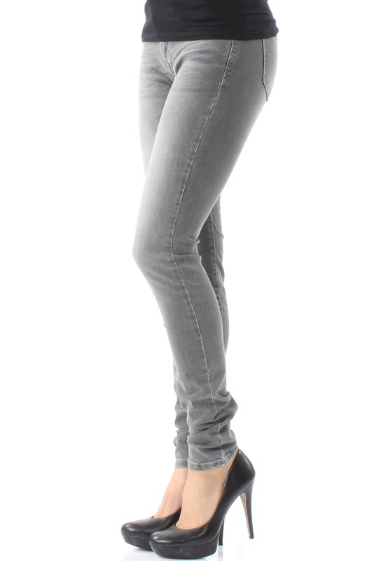 LTB Damen Jeans NICOLE Speed Grey Wash Grau – Bild 3