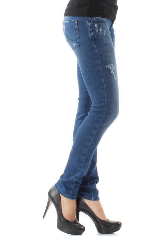 LTB Damen Jeans MOLLY Dita Wash Mittelblau – Bild 2
