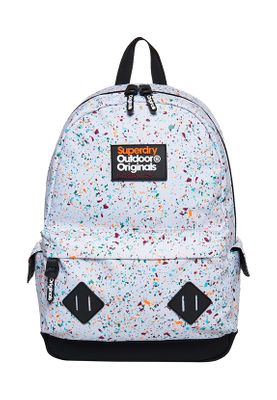 Superdry Rucksack SKATE SPLAT MONTANA Ground White