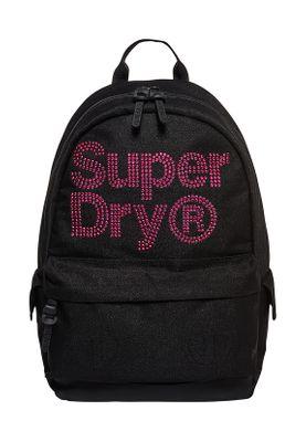 Superdry Rucksack LINEMAN RHINESTONE MONTANA Black Pink