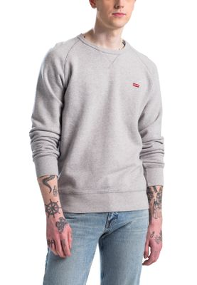 Levis Herren Sweatshirt ICON CREW 56176-0001 Grau – Bild 1