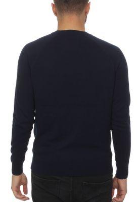 Superdry Pullover Herren ORANGE LABEL COTTON CREW Classic Navy – Bild 1
