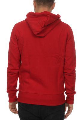 Superdry Zipper Herren ACADEMY SPORT APPLIQUE ZIPTHRU Fine Brand Red – Bild 1