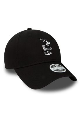 New Era Disney 9Forty Damen Adjustable Cap MINNIE MOUSE Schwarz – Bild 1
