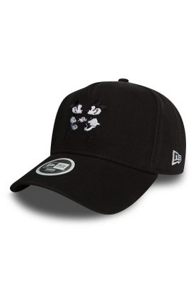 New Era Disney Trucker 9Forty Damen Adjustable Cap JUMPING MINNIE MOUSE Schwarz – Bild 0