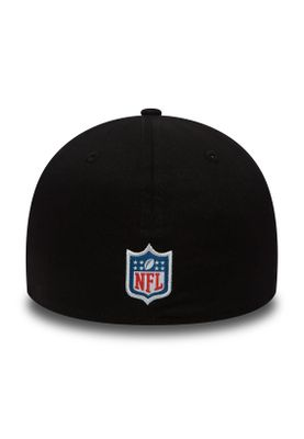 New Era Team 39Thirty Cap OAKLAND RAIDERS Schwarz – Bild 1