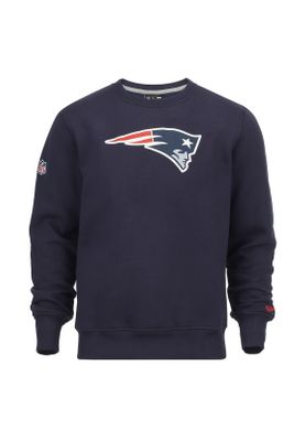 Neu New Era Team Logo Crew Sweatshirt Herren NEW ENGLAND PATRIOTS Blau a55451516f