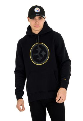 New Era NFL Fan Pack Hoody Herren PITTSBURGH STEELERS Schwarz – Bild 0