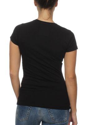 Superdry T-Shirt Damen CLASSIC SCRIPT RSTONE SCATTER Black – Bild 1