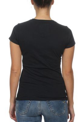Superdry T-Shirt Damen PREMIUM GOODS ATAR STUD ENTRY Eclipse Navy – Bild 1