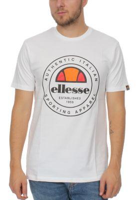 Ellesse T-Shirt Herren VETTORIO T-SHIRT SHZ05901 Weiss White – Bild 0