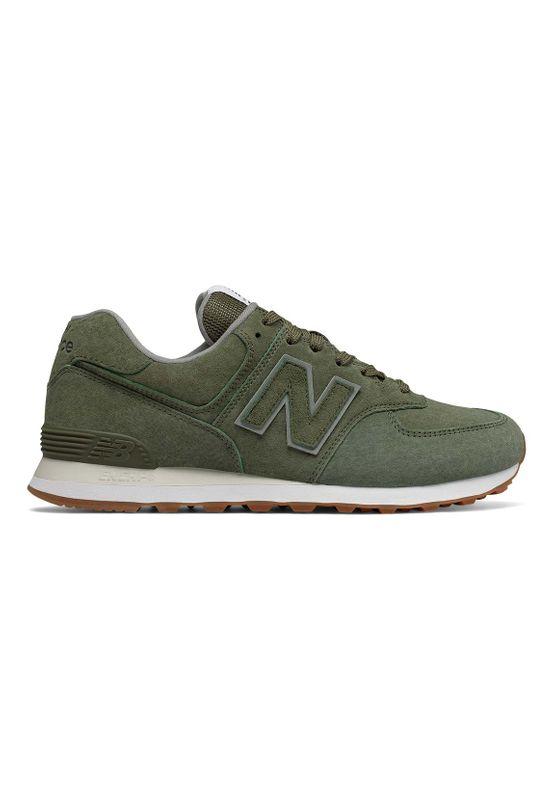 New Balance Sneaker Herren ML574EPB Grün Dark Covert Green
