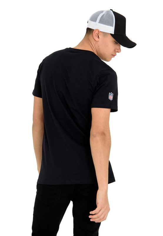New Era NFL Fan Pack Tee Herren OAKLAND RAIDERS Schwarz – Bild 2